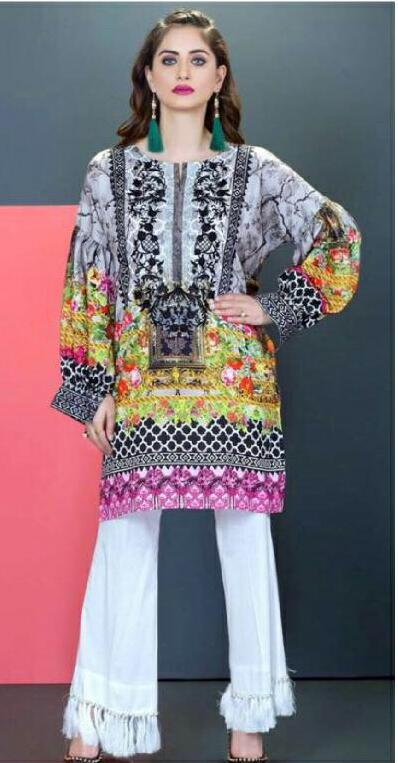Moosa Jee Lawn Collection 2018