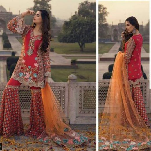 Gul Ahmed Chiffon Collection 2018