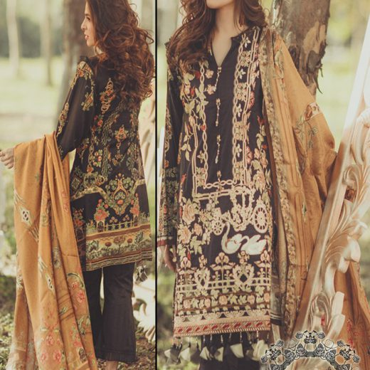 Rangrasiya Lawn Collection 2018