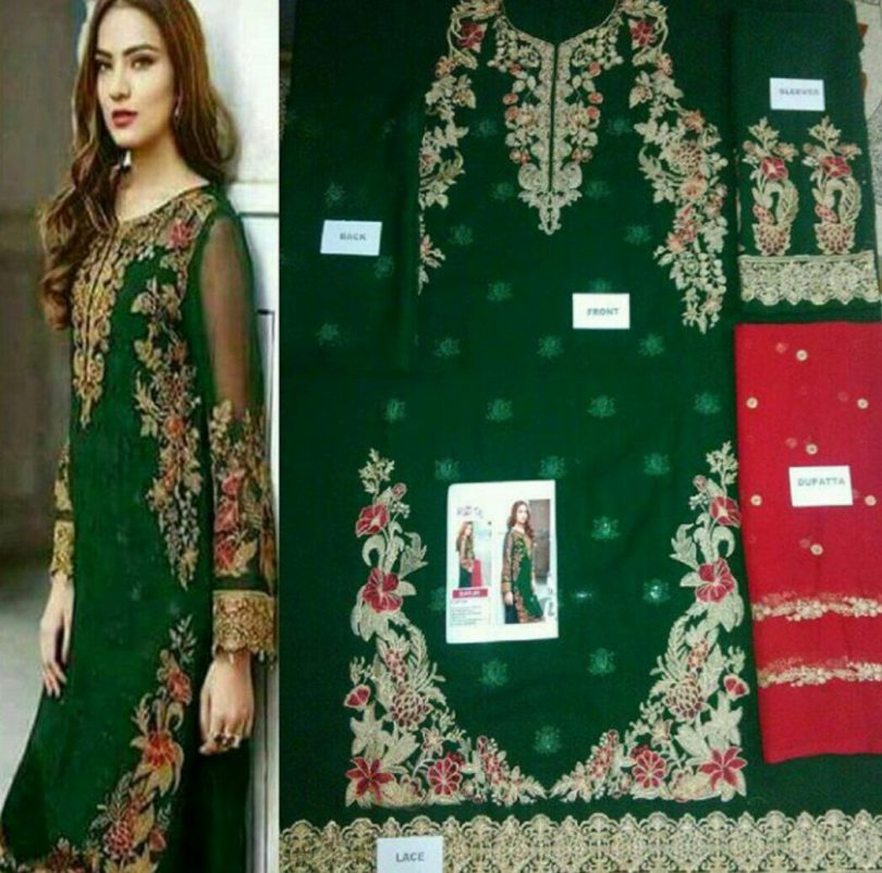 Barooque Chiffon Collection 2018