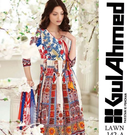 Gul Ahmed Lawn Collection 2018