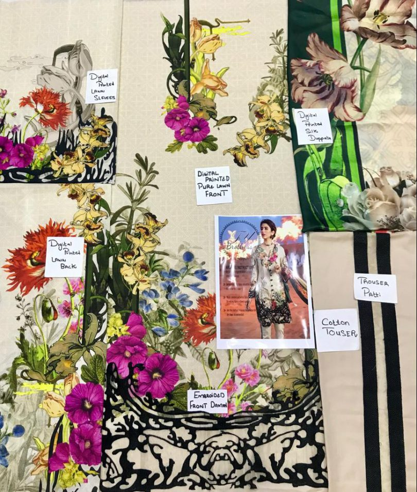 Cross Stich Lawn Collection 2018