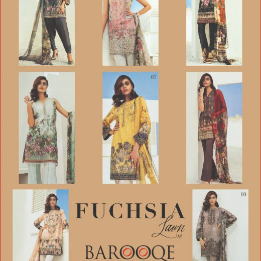 Barooqe Lawn Collection 2018
