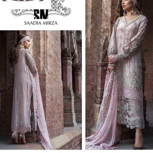 Sadia Mirza Chiffon Collection 2018