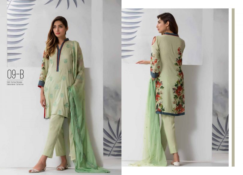 Sahil Oiginal Lawn Collection Vol 4 2018