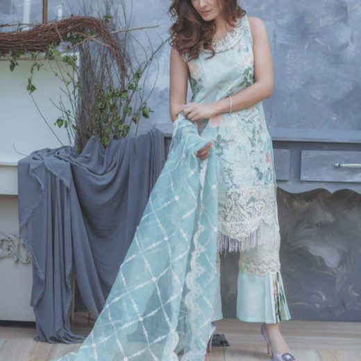 Rang Rasia Latest lawn suit 2018