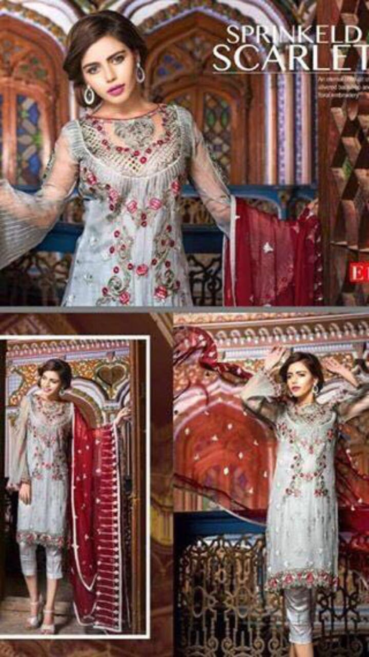 Maryams Chiffon Eid Collection 2018