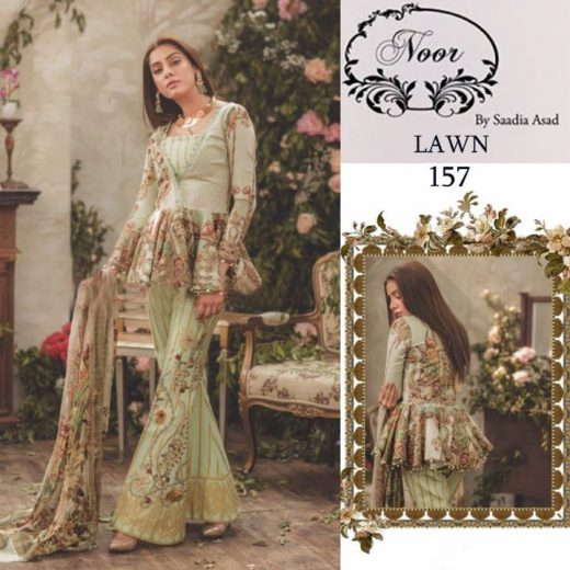 Sadia Asad Lawn Collection 2018