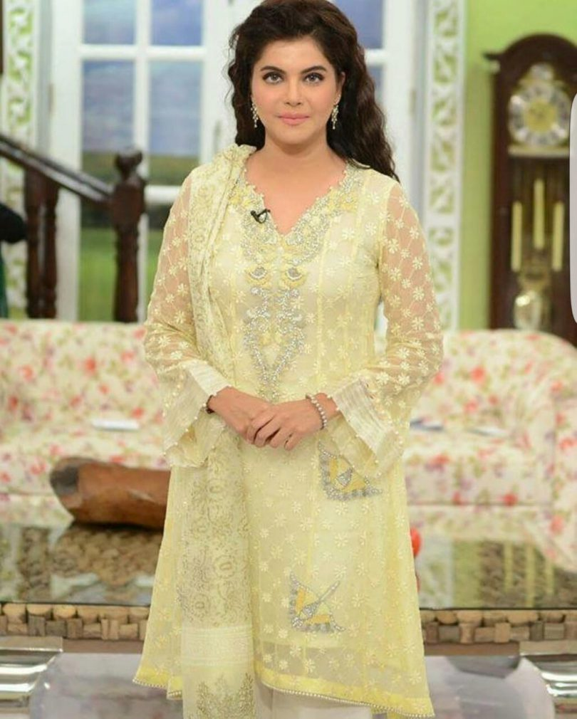 Nida yasir Chiffon Eid Collection 2018