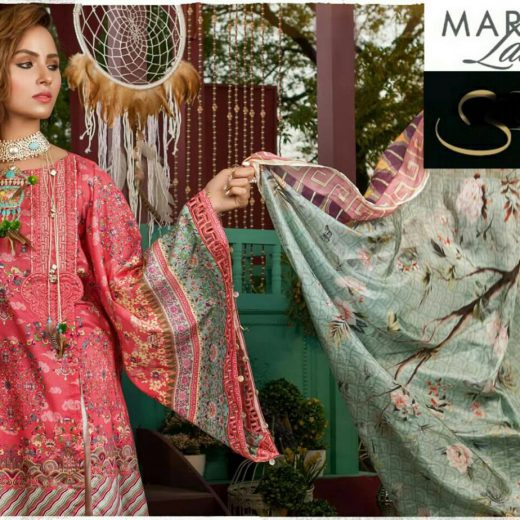 Maria B Eid Lawn Collection 2018