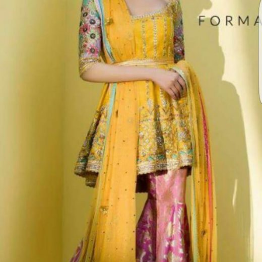 Sania MAskatiyan Eid Collection 2018