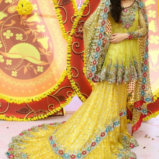 Kashees Mehndi Dresses 2018