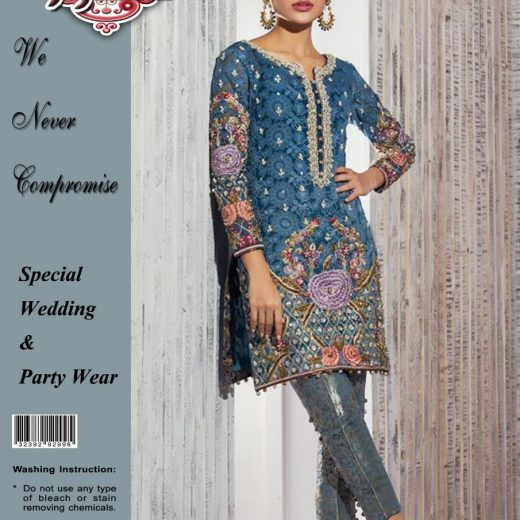 Anus Abrar Eid Chiffon Collection 2018