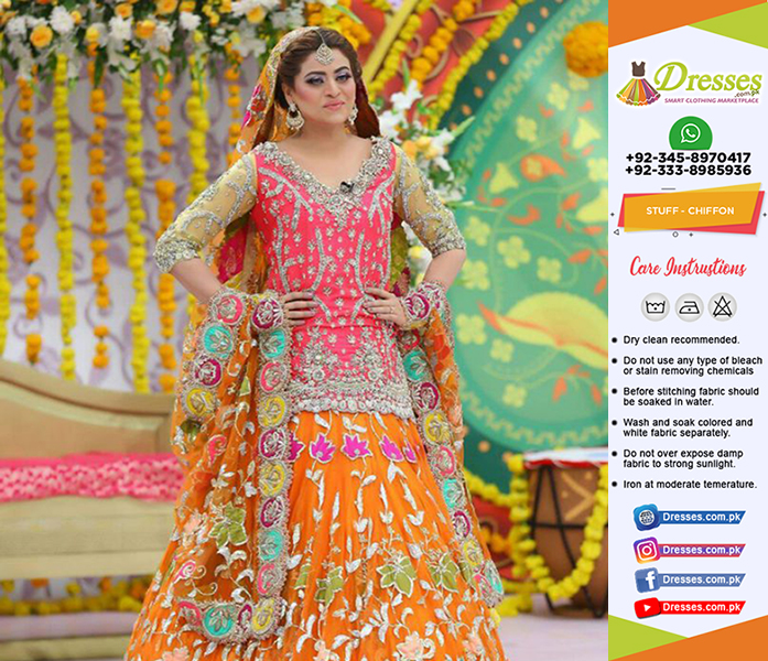 Kashees Bridal Suit Collection 2018