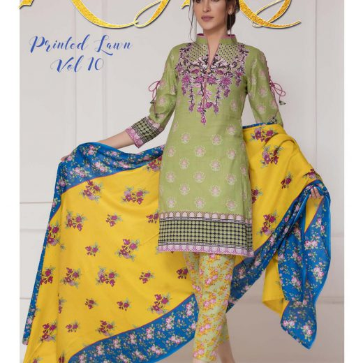 Rungrez Lawn Collection Volume 10 2018