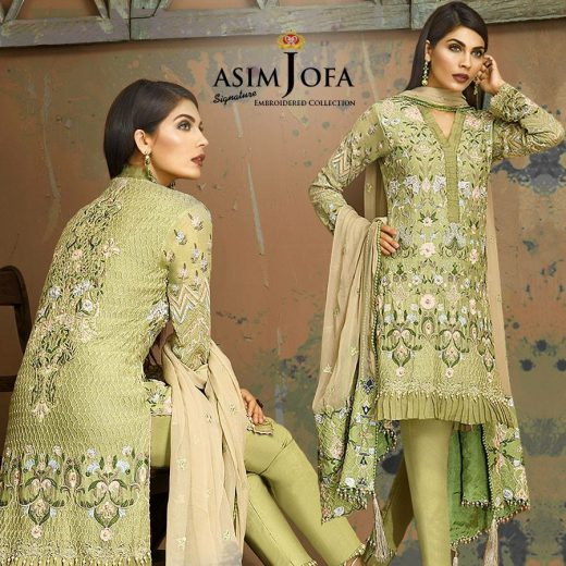 Asim Jofa Eid Collection 2018