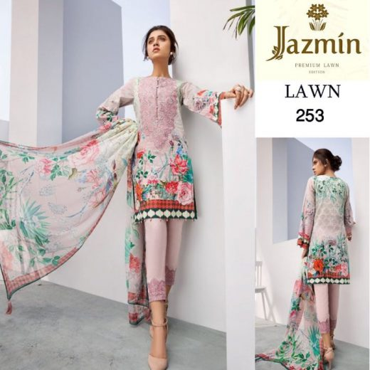 Jazmin By Baroque Eid Suit 2018