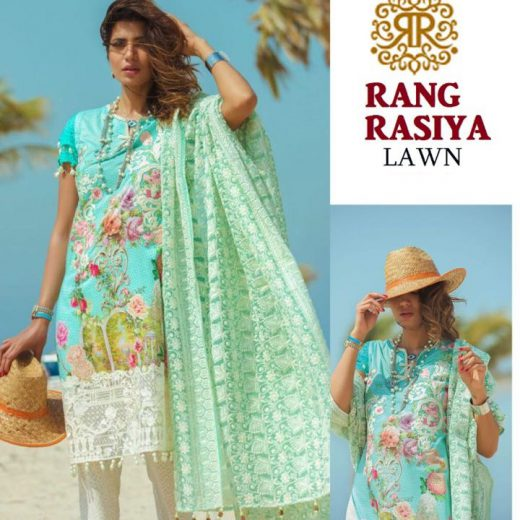 Rang Rasiya Lawn Collection 2018