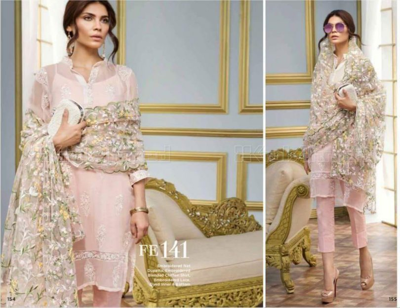 Gul Ahmed Lawn Suit Collection 2018