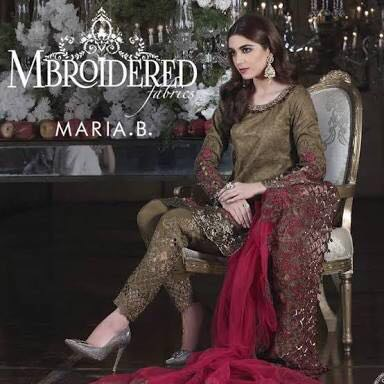 Maria B Latest Chiffon Collection 2018