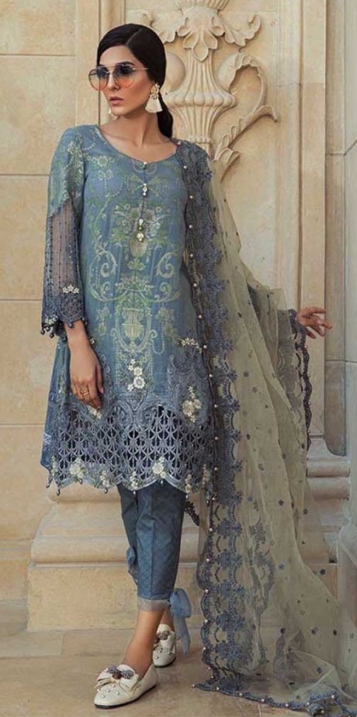 Maria B Lawn Latest Suit 2018