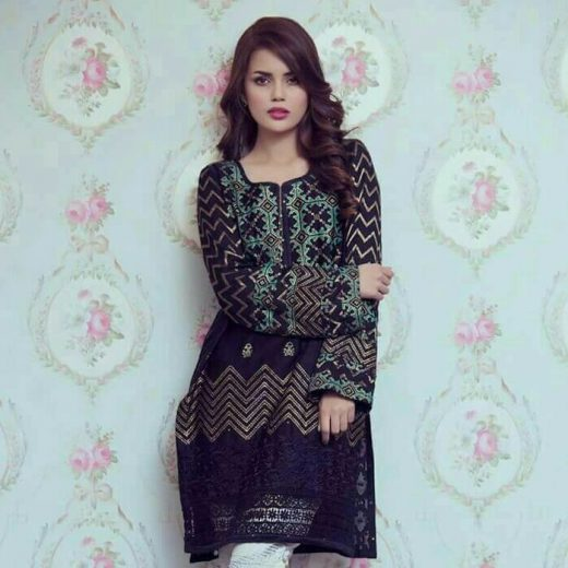 Royal Broshiya Lawn Collection 2018