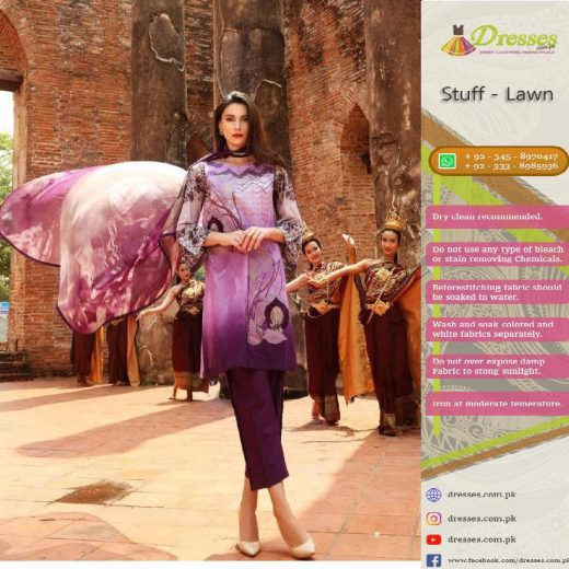 Charizma Latest Lawn Collection 2018