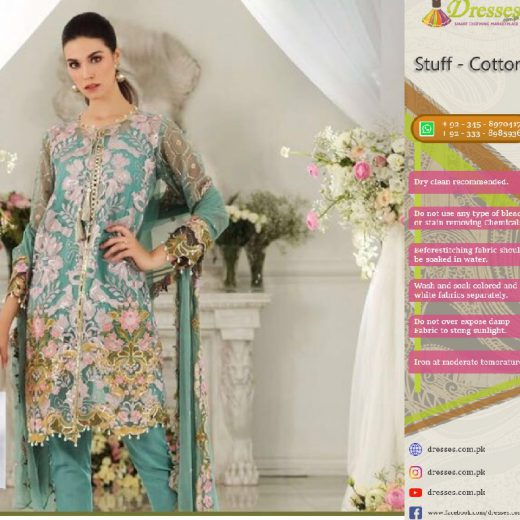 Gul Ahmed Chiffon Suit Collection 2018