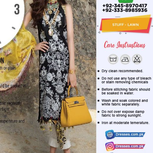 Sadia Asad Lawn Suit Collection 2018
