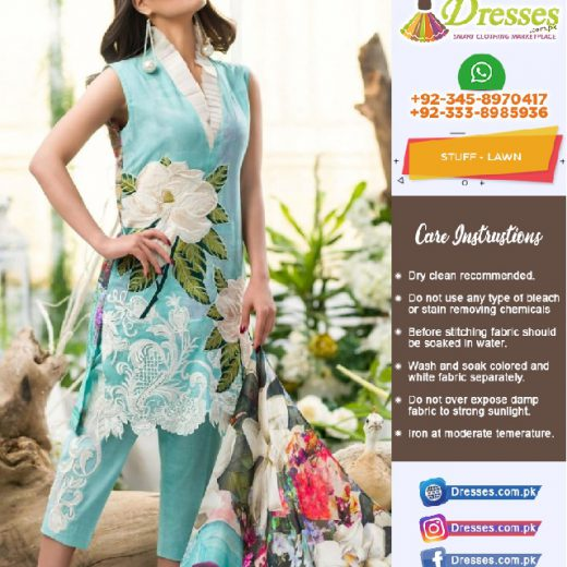 Asifa Nabil Lawn Suit Collection 2018