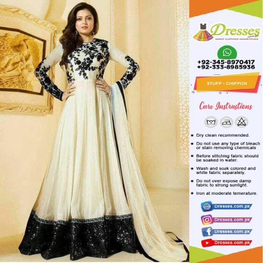 Indian Frock Eid Collection 2018