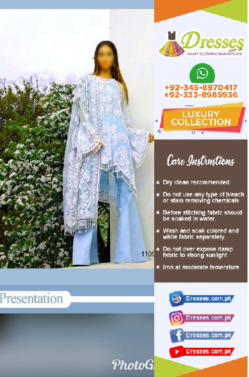 Sana Safinaz Net Suit Eid Collection 2018