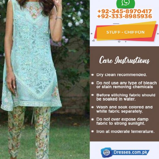 Mina Hasan Chiffon Eid Collection 2018