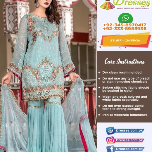 Maryam Chiffon Collection 2018