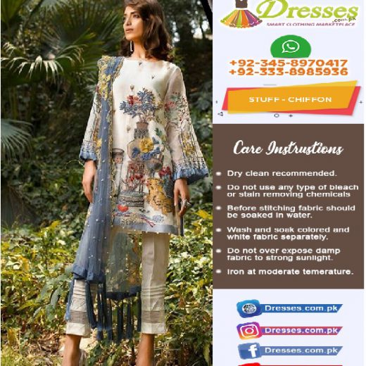 Charizma Chiffon Eid Collection 2018