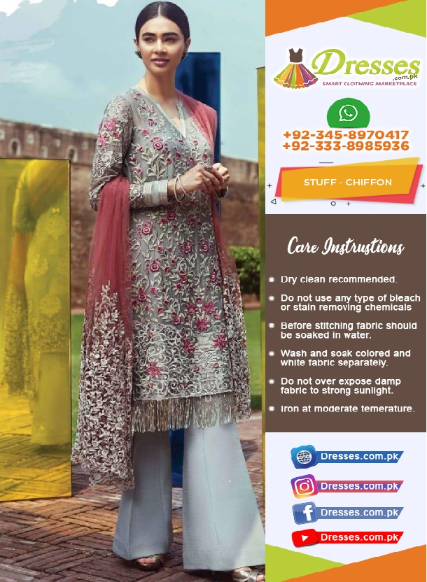 Imrozia Chiffon Eid Collection 2018