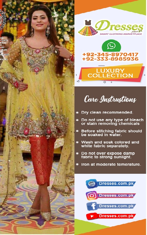 Kashees Bridal Mehndi Collection 2018