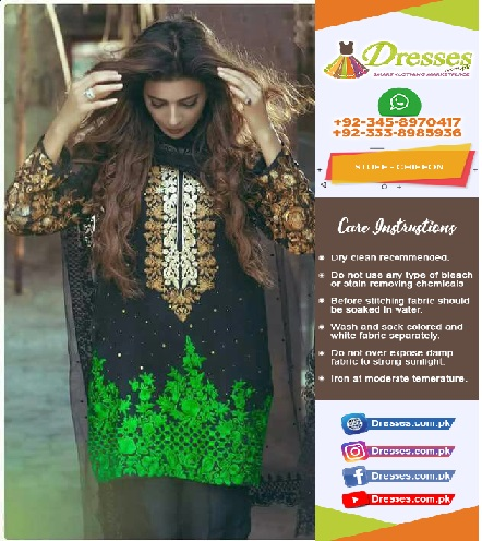Rozina Munib Chiffon Eid Collection 2018