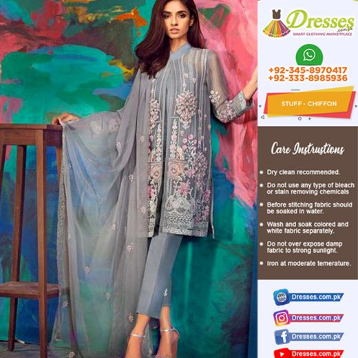 Gul Ahmed Chiffon and Silk Collection 2018