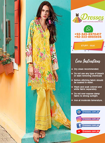 Gul Ahmed Silk Collection 2018