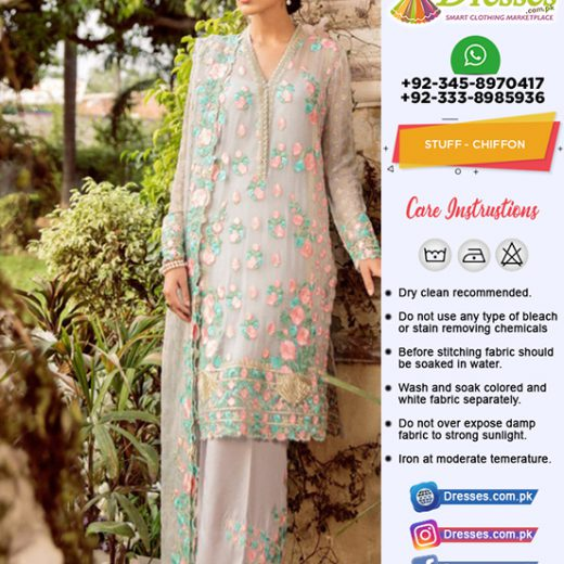 Mina Hasan Chiffon Collection 2018
