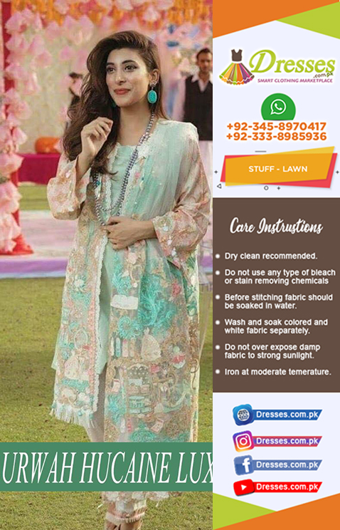 Urwah Hocane Lawn Collection 2018