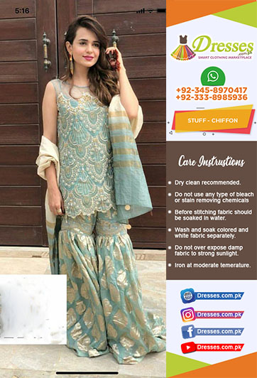 Saira Rizwan Chiffon Collection 2018