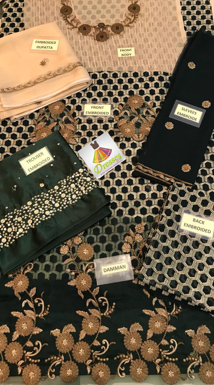 Erum Khan Chiffon Collection 2018