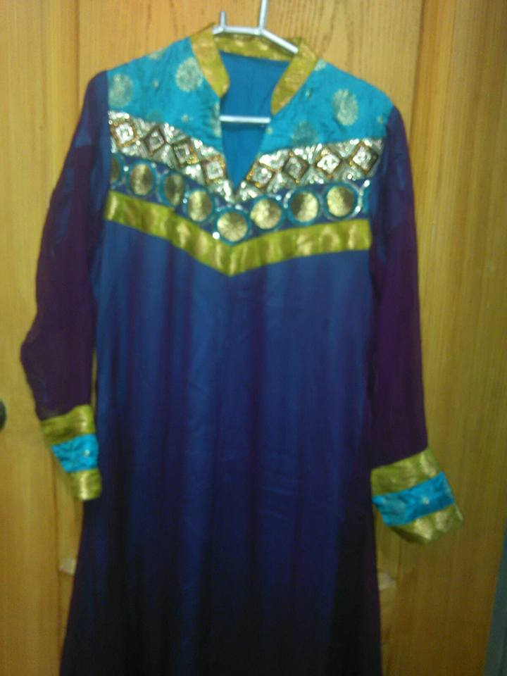Georget Frock with Churridar Pajama
