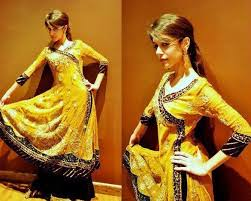 Latest Dresses for Mehndi Function