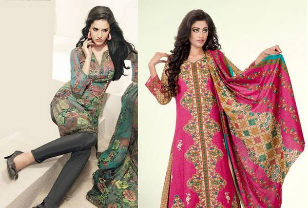 Pakistani dresses for eid 2016