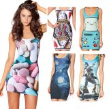 digital printed dresses