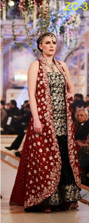 Zainab Chottani Red Mesuri Dress Replica