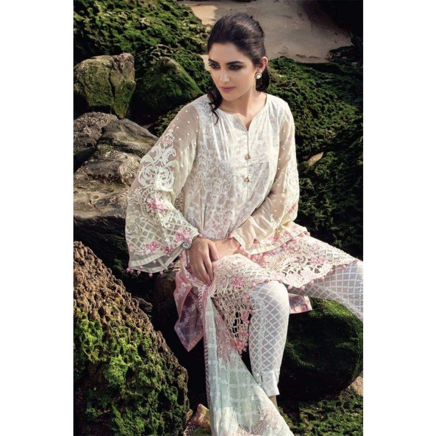 47803d029f Maria.B Embroidered Luxury Lawn Replica On sale | Pakistani Dresses ...